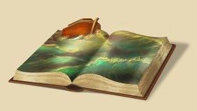Книга Noah Рассказы библии стоковые фотографии rf