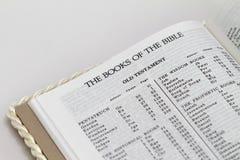 книги библии стоковые изображения