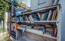 Книги в Тель-Авив Стоковые Фотографии RF