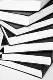 Книги делают по образцу на белизне Стоковые Фото