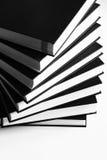 Книги делают по образцу на белизне Стоковая Фотография RF