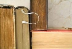 книги закрывают старое поднимающее вверх Стоковое Изображение