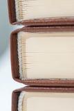 книги закрывают штабелируют вверх Стоковые Фото