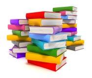 книги изолировали белизну Стоковые Изображения