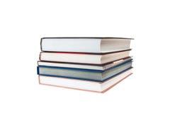 книги изолированные над белизной стога бесплатная иллюстрация