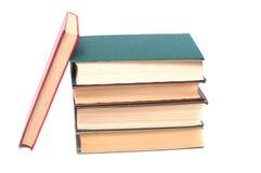 книги изолированные над белизной стога Стоковые Фото