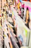 Книги и магазин кассеты Стоковые Фото