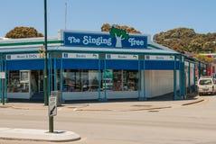 Книги и музыка ходят по магазинам на улице Йорка, Albany Австралии Стоковые Изображения