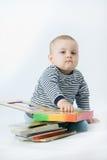 книги младенца стоковые фото