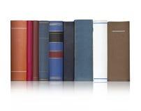 Книги на белом backgroun Стоковая Фотография