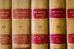 Книги по праву Стоковые Изображения
