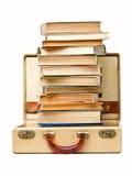 книги принимая каникулу Стоковые Фото