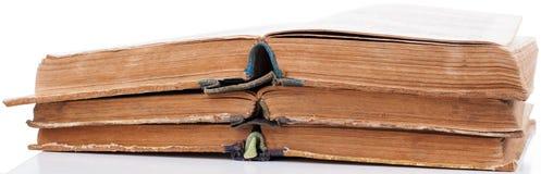 книги раскрывают сбор винограда таблицы 3 Стоковое фото RF