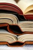 книги раскрывают Стоковые Изображения