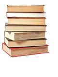 книги снабжают ссылками штабелировано стоковое фото