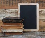 Книги старой школы Стоковая Фотография RF