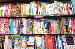 Книги чертежа детей Стоковые Изображения