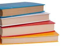 книги штабелированные вверх Стоковое фото RF