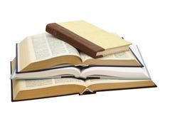 книги 4 стоковое изображение rf