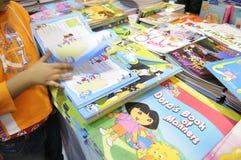 Книжная ярмарка в Kolkata. Стоковое Фото