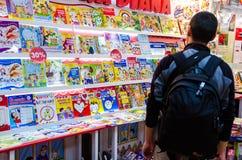 Книжная ярмарка Gaudeamus, Бухарест, Румыния 2014 Стоковые Фото
