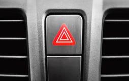 Кнопка аварийной остановки в отсеке пассажира стоковое фото rf