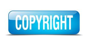 Кнопка авторского права иллюстрация вектора