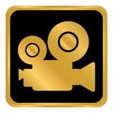 Кнопка видеокамеры Стоковая Фотография RF