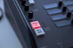 кнопка воздуха стоковое изображение rf
