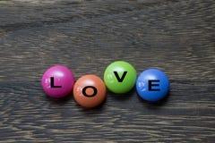 Кнопка влюбленности Стоковое Изображение
