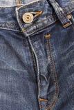 Кнопка заклепки джинсов Фасонируйте джинсыы Стоковое Изображение
