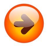кнопка затем Стоковое Изображение RF
