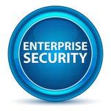 Кнопка зрачка безопасностью предприятия голубая круглая иллюстрация вектора