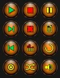 Кнопка игрока бесплатная иллюстрация