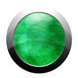 Кнопка интернета травы Стоковые Фотографии RF