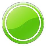 кнопка лоснистая Стоковые Фотографии RF