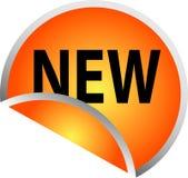 кнопка новая Стоковое Фото