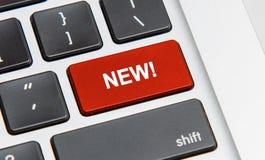 кнопка новая Стоковые Изображения