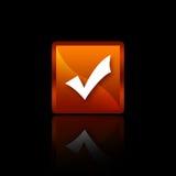 кнопка одиночная Стоковые Фотографии RF