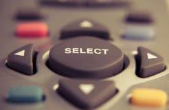 кнопка отборная Стоковое Фото