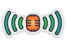 кнопка передачи Стоковое Изображение