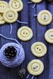 Кнопка печений Стоковая Фотография RF