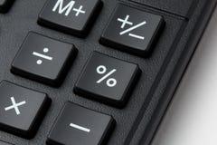 Кнопка процентов на кнопочной панели calculatror Стоковое Фото