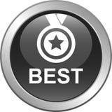 Кнопка самого лучшего продавца Стоковые Фото