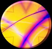 кнопка солнечная иллюстрация вектора