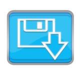 кнопка сохраняет Стоковые Изображения RF
