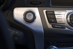 Кнопка стоп старта двигателя Стоковые Изображения RF