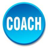 кнопка тренера иллюстрация штока