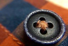 Кнопка черная и фиолетом покрашенная стоковые изображения rf