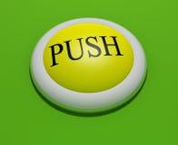кнопка 3 Стоковое фото RF